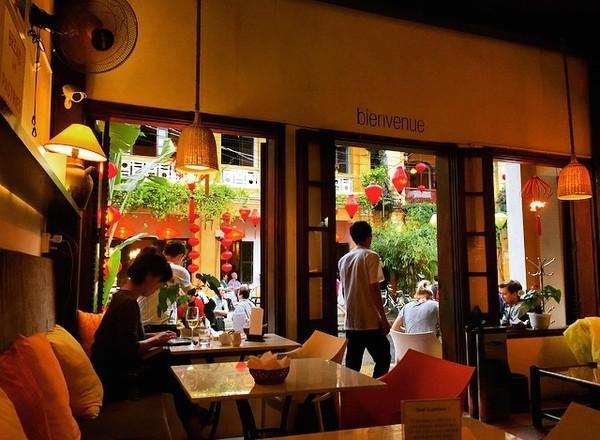 Một quán cafe ở Hội An