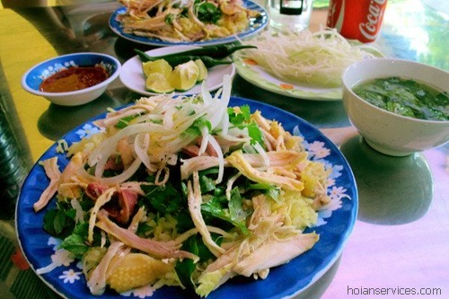 Chicken rice Hoi An