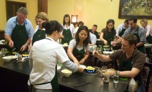 A cooking class in Hoi An
