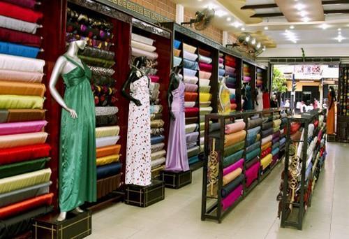 Cửa hàng trang phục ở Hội An