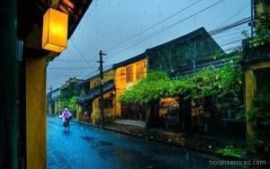 Rainy season in Hoi An